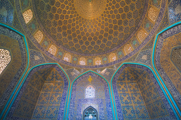 Sheikh Lotfollah Mosque is one of the architectural masterpieces of Iranian architecture that was built during the Safavid Empire. Property release is not needed for this public place.
