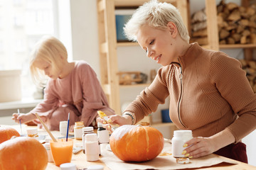 Preparation for favorite fall holiday