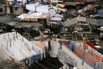 Dhoby Ghat Laundry, Mumbai, India