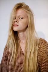 Fashion portrait of teen girl