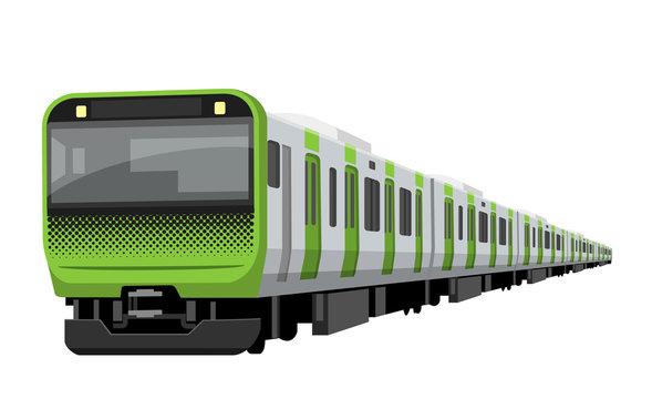 電車、鉄道:山手線