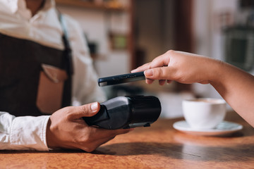 Mobile and contactless payment in cafeteria