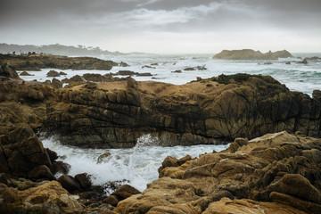 Pacific ocean coast, USA