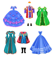 fairy tale characters costumes