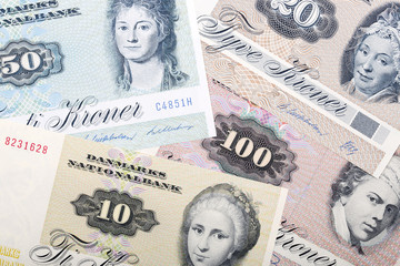 Old money from Denmark, a background