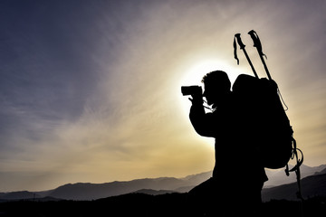 observation and exploration in the field with binoculars