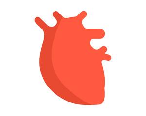 heart organ medical medicare pharmacy clinic image vector icon logo