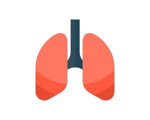 lung organ medical medicare pharmacy clinic image vector icon logo