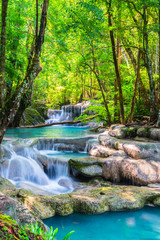 Wall Mural - Beautiful waterfall in National Park