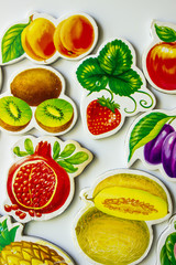 fruits in children's pictures
