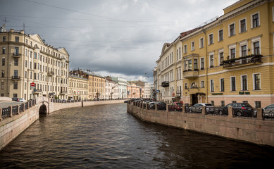 St. Petersburg city view