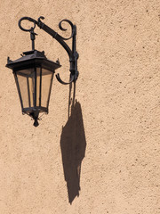 Street lamp in the old city