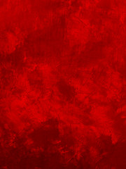 grunge red paint wall