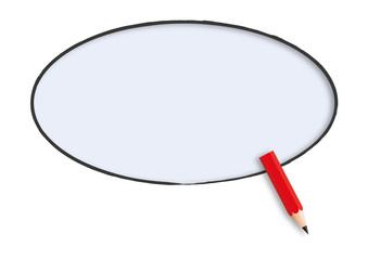 bulle - message - présentation - fond - bulle de BD - idée - communication - BD, crayon - dialogue