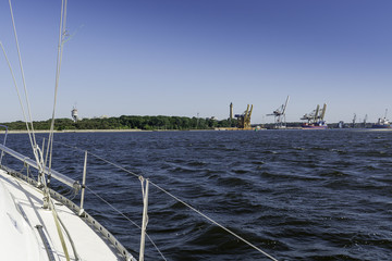 Świnoujście harbor Fotomurales