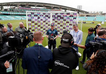 England & Australia Nets & Press Conference