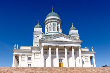 Kirche Helsinki Finnland Dom Kathedrale Tuomiokirkko Textfreiraum Copyspace