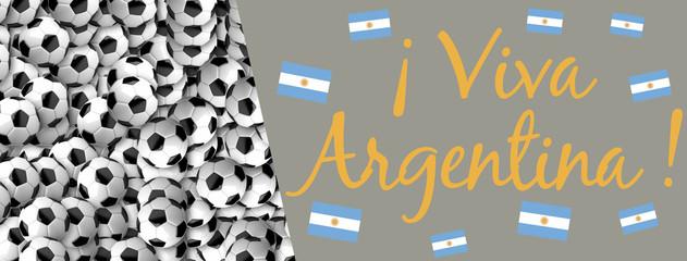 Viva Argentina - Copa Mundial de Fútbol