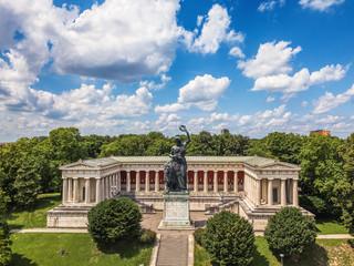 Bavaria Statue Fototapete