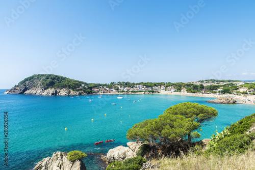 La Fosca Beach Costa Brava Girona Catalonia Spain