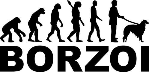 Borzoi evolution word