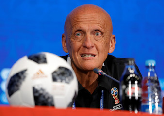 Soccer Football - World Cup - Referees News Conference