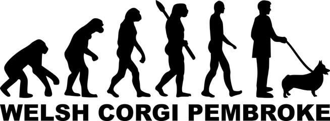 Welsh Corgi Pembroke evolution word