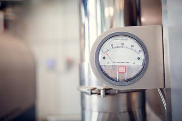 Photo of water meter in workshop
