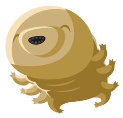 cute tiny tardigrade