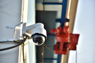 CCTV at the factory