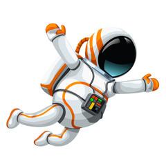 astronaut on white