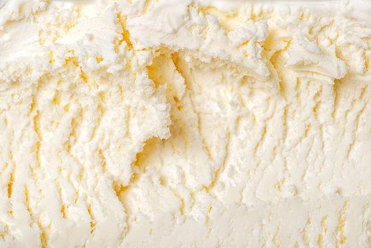 texture of white ice cream like background, close up