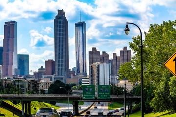 Wall Mural - Bustling entry way into Downtown Atlanta