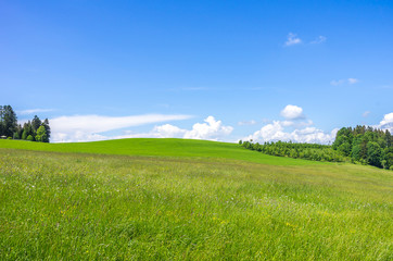 Allgau Landscape near Lindau, Bavaria, Germany