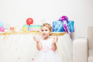 Happy little birthday girl