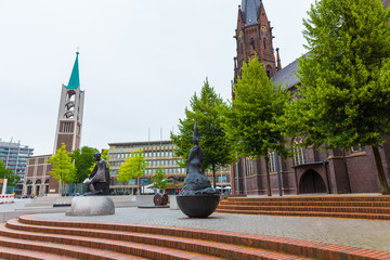 gelsenkirchen germany cityscape