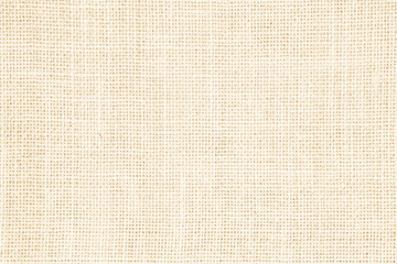 Pastel abstract Hessian or sackcloth fabric or hemp sack texture background. Wallpaper of artistic wale linen canvas. Blanket or Curtain of cotton pattern with copy space for text decoration. Wall mural