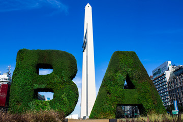 The monolith of Buenos Aires.