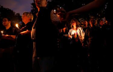 Candlelight vigil for Orlando Pulse nightclub shooting anniversary in Washington