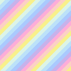 Geometric striped background, pastel rainbow spectrum colors. LGBTQ colors. Abstract geometric striped seamless pattern, rainbow stripes. Vector illustration. Colorful wave, wavy LGBT flag.