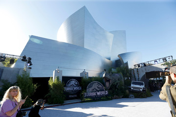 "A general view of the premiere of the movie ""Jurassic World: Fallen Kingdom"" at Walt Disney Concert Hall in Los Angeles"