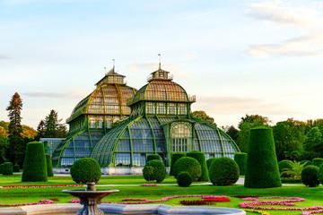 Foto op Plexiglas Wenen Palmenhaus und Wüstenhaus in Wien
