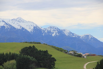 Kaikoura Mountains, New Zealand