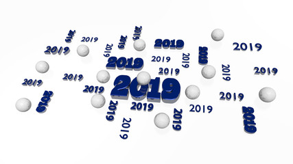 Several Handball 2019 Designs with Some Balls