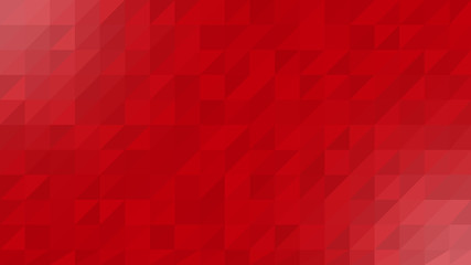 Red White Low Poly Vector Background