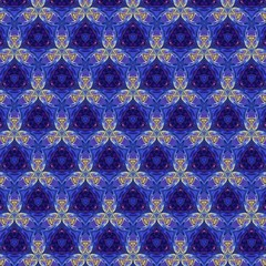Seamless pattern background. Symmetric vintage fabric texture. Decor for design trendy fashion clothes, textile and print. High resolution desktop wallpaper. Template for hand made products decoration