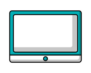 tablet computer device wireless digital image vector illustration