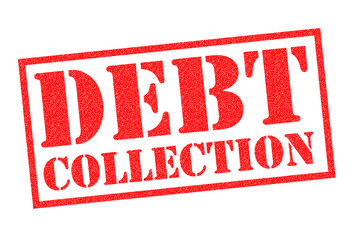 DEBT COLLECTION Rubber Stamp
