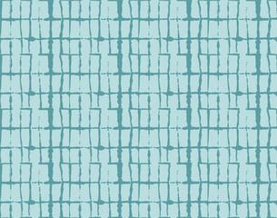 Tie Dye Ornament, Turquoise Kimono Organic Texture. Creative Wabi Sabi, Ikat Traditional Texture. Horizontal Turquoise Batik Boho Pattern Fabric Background. Abstract Japanese Kimono Fabric Design.