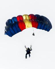 Foto auf Acrylglas Luftsport Colorful Parachute
